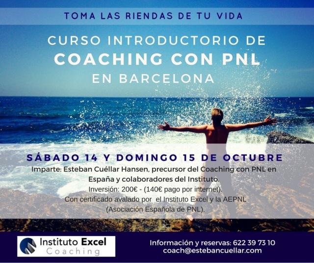 Coaching con PNL en Barcelona