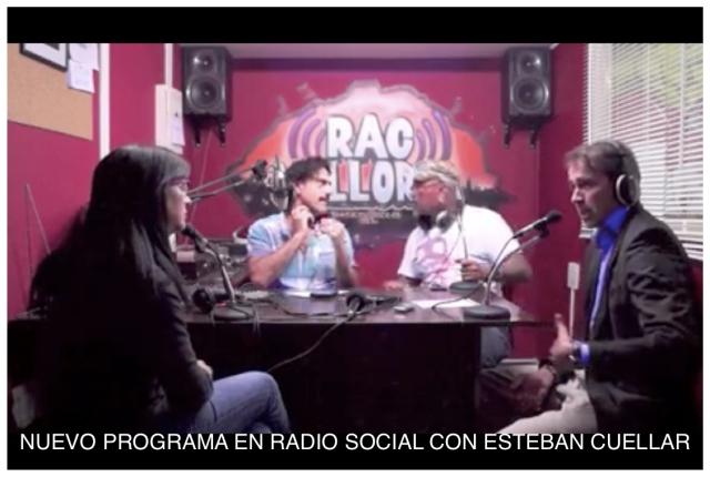 Nuevo programa de Esteban Cuéllar Hansen en radio social